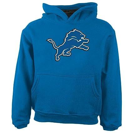 388e52c7 Amazon.com : Outerstuff NFL Detroit Lions Hooded Sweatshirt, 12 ...
