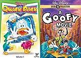 Disney's Duck Cartoon Quack Pack Volume 1 & A Goofy Movie (Gold Collection) 2-DVD Bundle