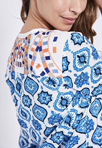 3 Basic Camicia Donna 4 A Maniche Dunkelblau Khujo qIwxO5171