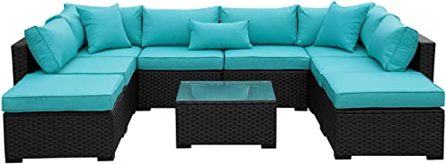 Outdoor PE Wicker Rattan Sofa