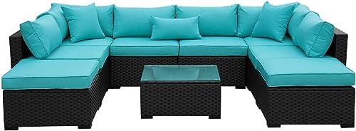 Outdoor PE Wicker Rattan Sofa