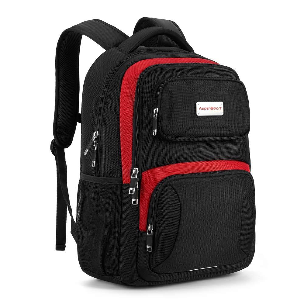 ASPENSPORT Laptop Backpack for Boy Water Repellent Book Bag fit 16 Computer
