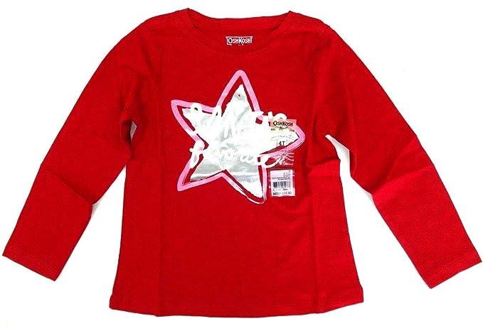 52d9644525e9e4 OshKosh B Gosh OshKosh B Gosh Langarmshirt 98 104 rot Winter US Size ...
