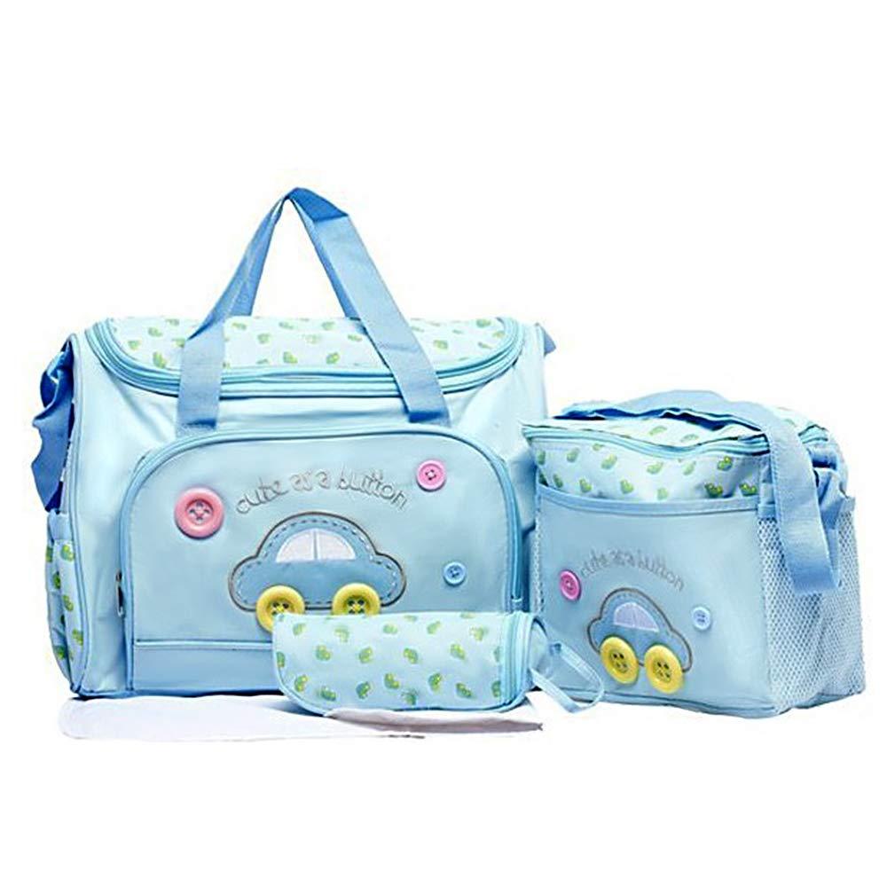 Wickeltasche f/ür Babys Handtasche gro/ße Kapazit/ät Multifunktional gro/ße Schultertasche verstellbarer Schulterriemen