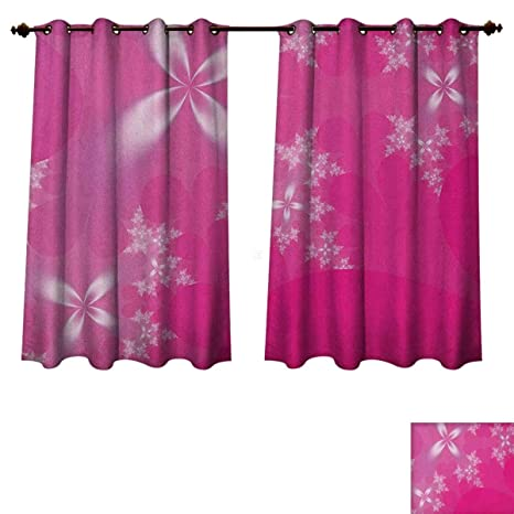 Amazon.com: PriceTextile Hot Pink Bedroom Thermal Blackout ...