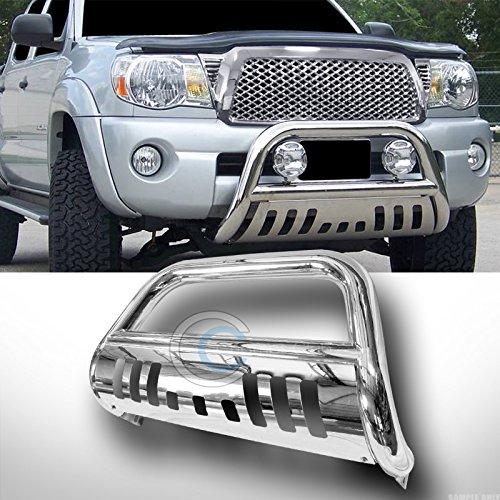 Chrome Steel Brush Push Bumper Grill Grille Guard Velocity Concepts Bull Bar Compatible with Dodge Dakota 05-11