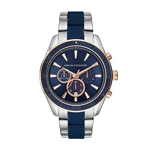 be4e94396d8f Buy Armani Exchange Analog Blue Dial Men s Watch - AX1819 Online at Low  Prices in India - Amazon.in