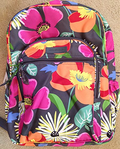 Vera Bradley Lighten up Campus Backpack in Jazzy - Outlets Stores Vero