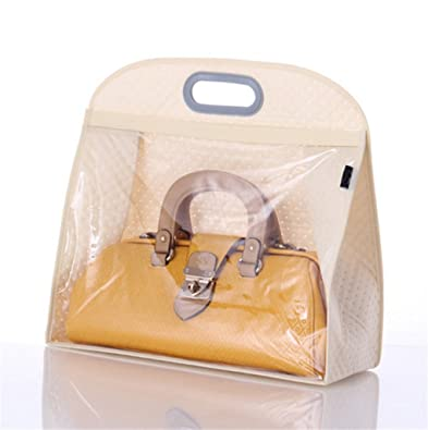 e471e5859a Amazon.com  Santwo Handbags Storage Hanging Closet Bag Organizer Purse  Holder PVC Bag and Save Space  Shoes