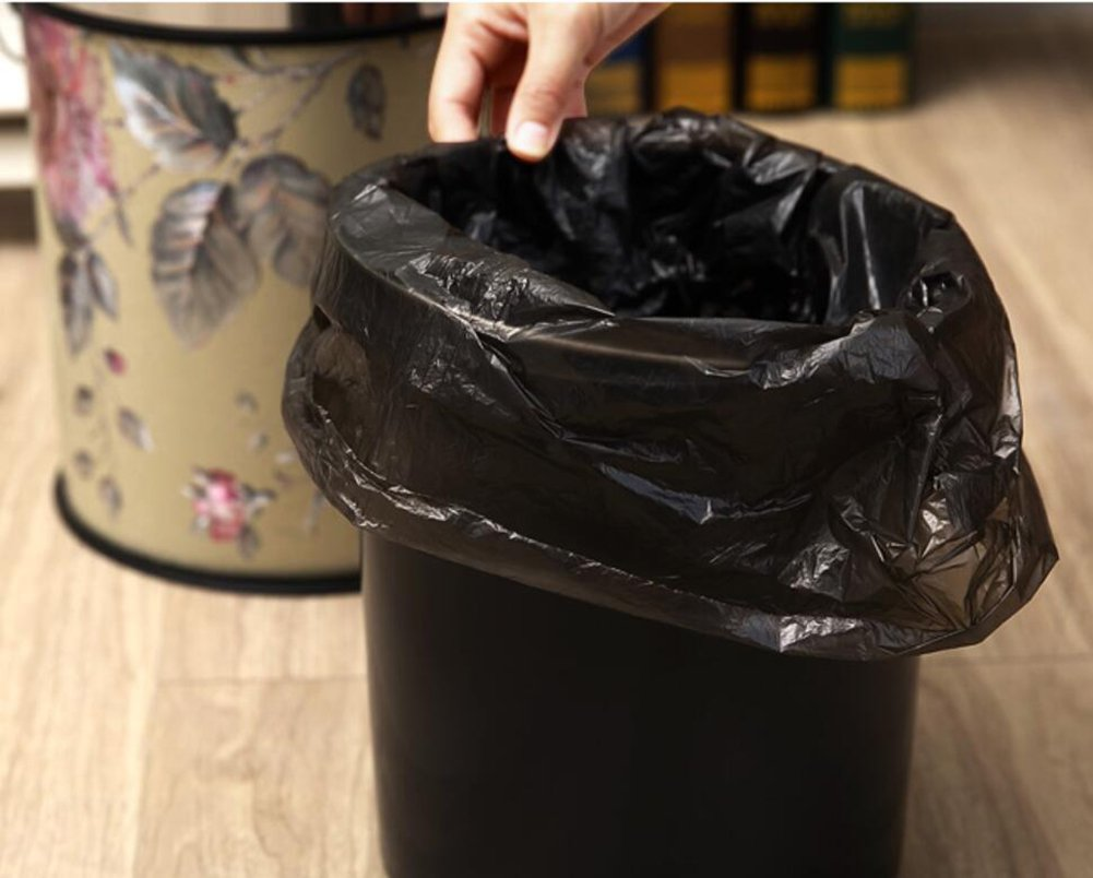 Aufbewahren & Ordnen WYMNAME Schritt Trash can Abfalleimer mit Deckel Edelstahl Trash can in Home & Zubehör Wein dekanter für Hochzeit-H Aufbewahren & Ordnen