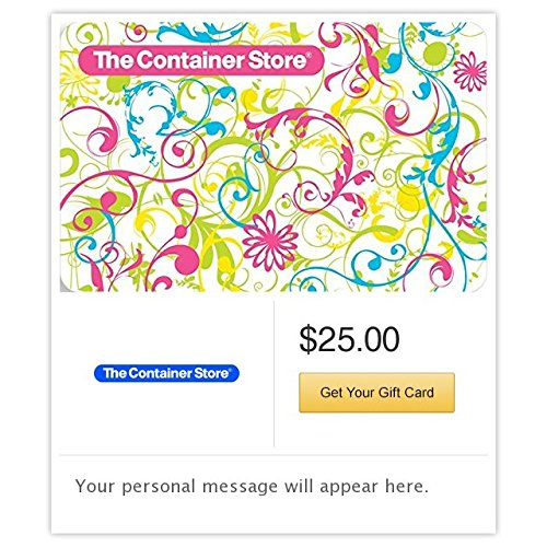 The Container Store Everyday Paisley Gift Cards   E Mail Delivery