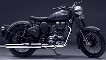 Shoping Inc Royal Enfield Bullet 500 Bike Poster Home