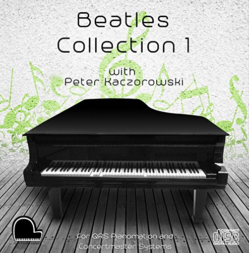 Qrs Player - Beatles Collection 1 - QRS Pianomation and Baldwin Concertmaster Compatible Player Piano CD