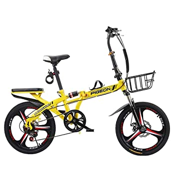 Weiyue Bicicleta Plegable- Bicicleta Plegable Commuter de 16 ...