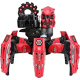 Goolsky KEYE Toys 9006-1 2.4G Remote Control Space Warrior DIY Assembly Battle Robot RC Toy