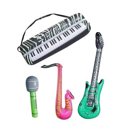 Amazon.com: Toyvian - Juego de 16 instrumentos musicales ...