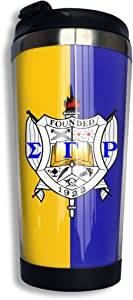 Venawy Sigma Gamma Rho 304 Stainless Steel Coffee Cup Specially Designed for The Perfect Travel Coffee Cup
