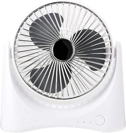 Bureau Powered Oscillant Ventilateur, Mini Table portable de