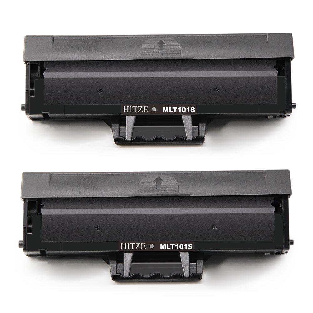 Hitze MLT-D101S MLT D101 D101S Toner Compatibile per Samsung ML2165 ML2160 ML2165W SCX-3400 SCX-3405FW SCX-3400 SF760P SCX3405FW SCX3405F SCX3405W M2162 2 Nero