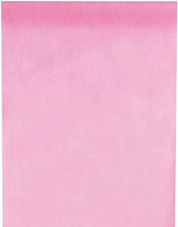 Inspirarte Deco - Camino de mesa en tela no tejida - Rosa: Amazon ...