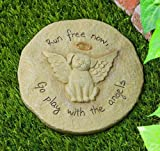 Dog Memorial Stepping Stone Run Free Now Play With Angels From Grasslands
