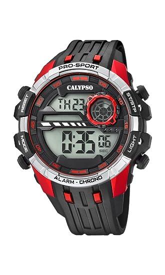 Calypso Reloj Digital para Hombre de Cuarzo con Correa en Plástico K5729/4: Calypso: Amazon.es: Relojes