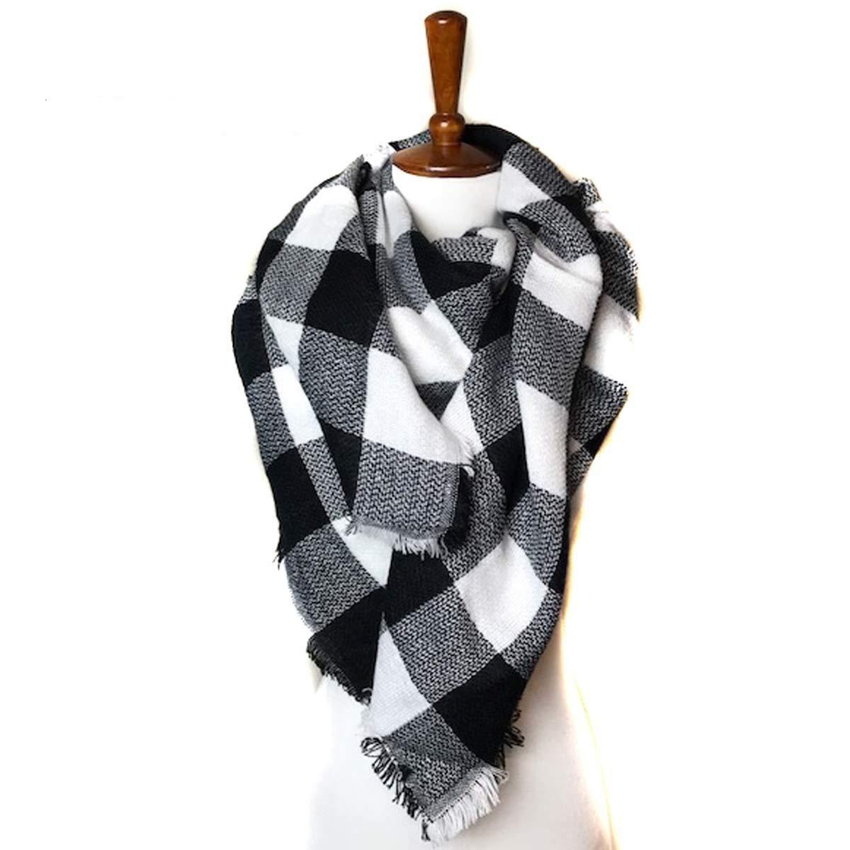 Endless Envy Women's Blanket Scarf Plaid Tartan Wrap Shawl
