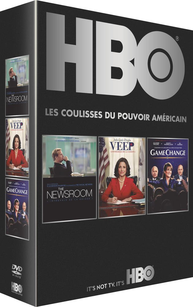 HBO politique : The Newsroom + Veep + Game Change Francia DVD ...