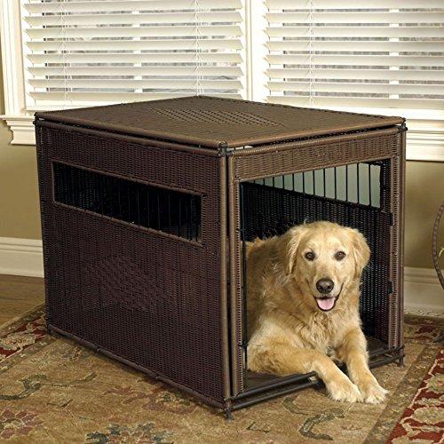 Mr. Herzher's Wicker Pet Residence - XLarge - 28W x 42D x 31