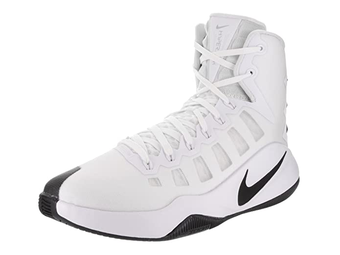 Nike Hyperdunk 2016 TB White/Black Men's Basketball Shoes Size 10