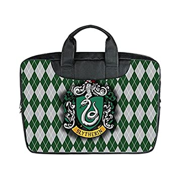 Custom Harry Potter Slytherin Diamond Plaid Custom bolsa de ordenador portátil bolsa: Amazon.es: Electrónica
