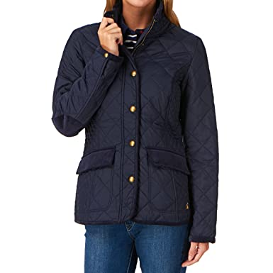 Joules Ladies Moredale Quilted Jacket Marine Navy Rmoredale 6
