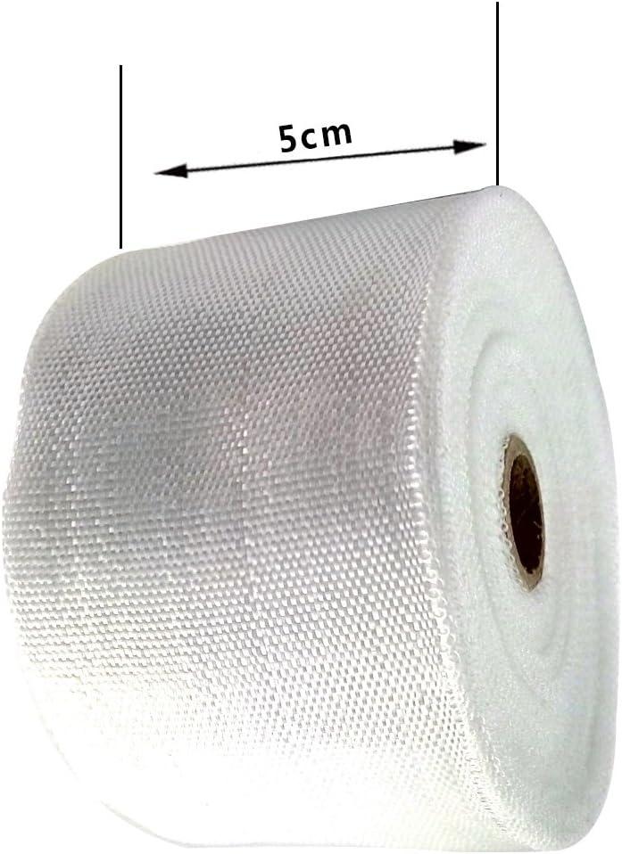 rollo de fibra de vidrio 5 cm x 30 m Cinta de fibra de vidrio con aislamiento t/érmico