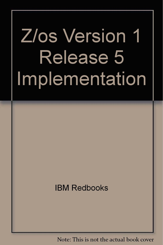 Z/os Version 1 Release 5 Implementation pdf