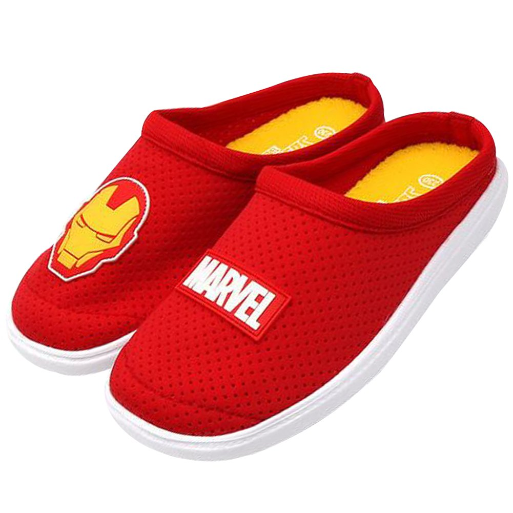 Marvel Characters Men Women Mesh Slippers Iron Man Spider-Man Sandals (Parallel Import/Generic Product) (9 B(M) US/8 D(M) US, Iron-Man)