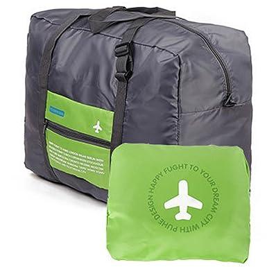 6e347d958122 Travel Bag Lightweight Duffel Gym Bag Waterproof Foldable Portable Luggage  Bag Men Women (32L