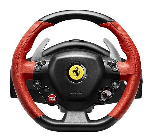Thrustmaster Ferrari 458 Spider Racing Wheel Replik Des Ferrari 458 Spider Lenkers Großes Anpassbares Und Optimiertes Pedalset Funktioniert Mit Xbox Series X S Amazon De Games
