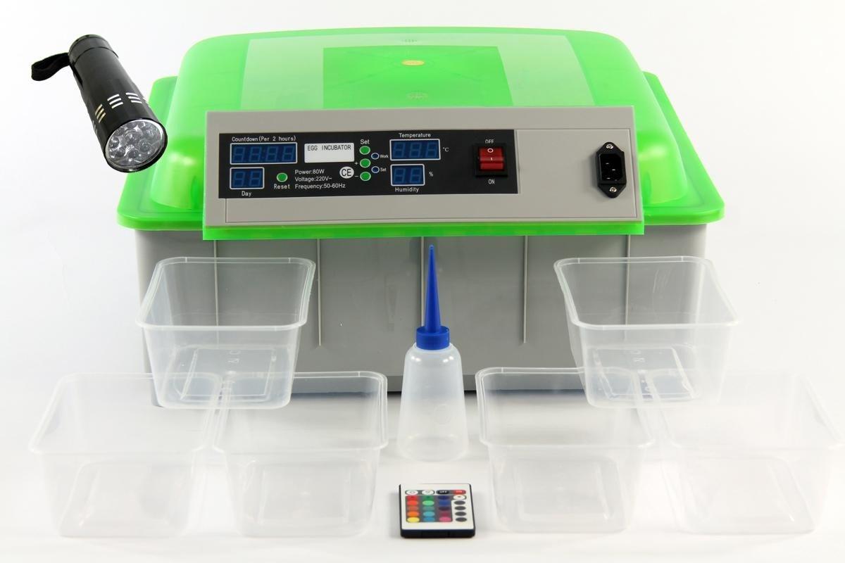 Qubeat Incubateur complètement automatique éleveurs de reptiles vert oeufs exotiques, l'éclosion machine à incubateur, la machine de reproduction Qubeat GmbH
