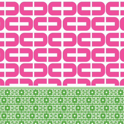 Ideal Home Range 20 Count Boston International 3-Ply Paper Cocktail Napkins, Rosanne Beck Collections Kate