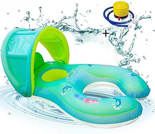 per Flotadores Hinchables para Bebés y Padres Anillos de Natación ...