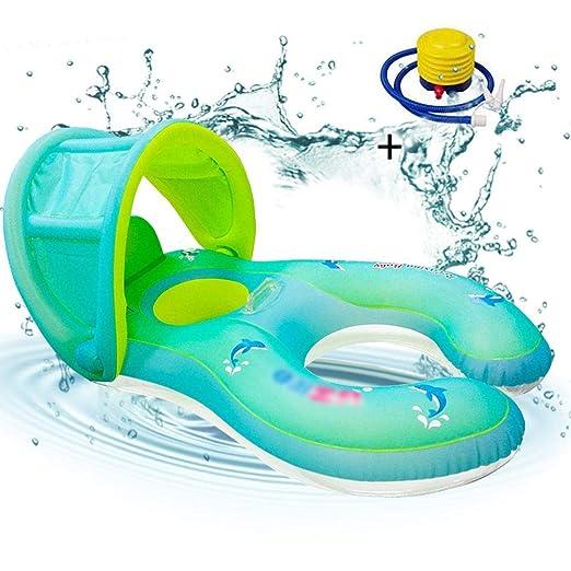 Luckybaby - Flotador Hinchable para bebés y niños: Amazon.es: Hogar