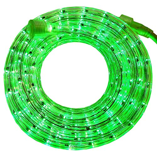 - PERSIK 18 Feet Green Rope Light for Indoor and Outdoor use