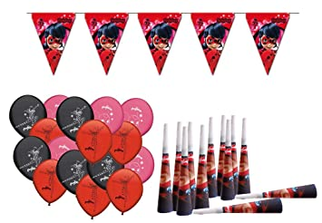 ALMACENESADAN 0470, Pack Decoración Fiesta y cumpleaños Lady ...