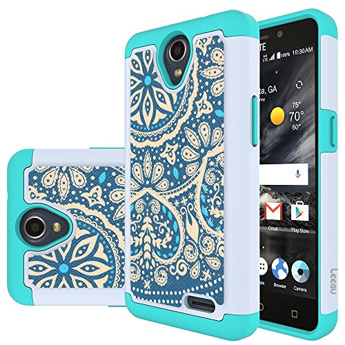 zte prelude blue phone case - 3