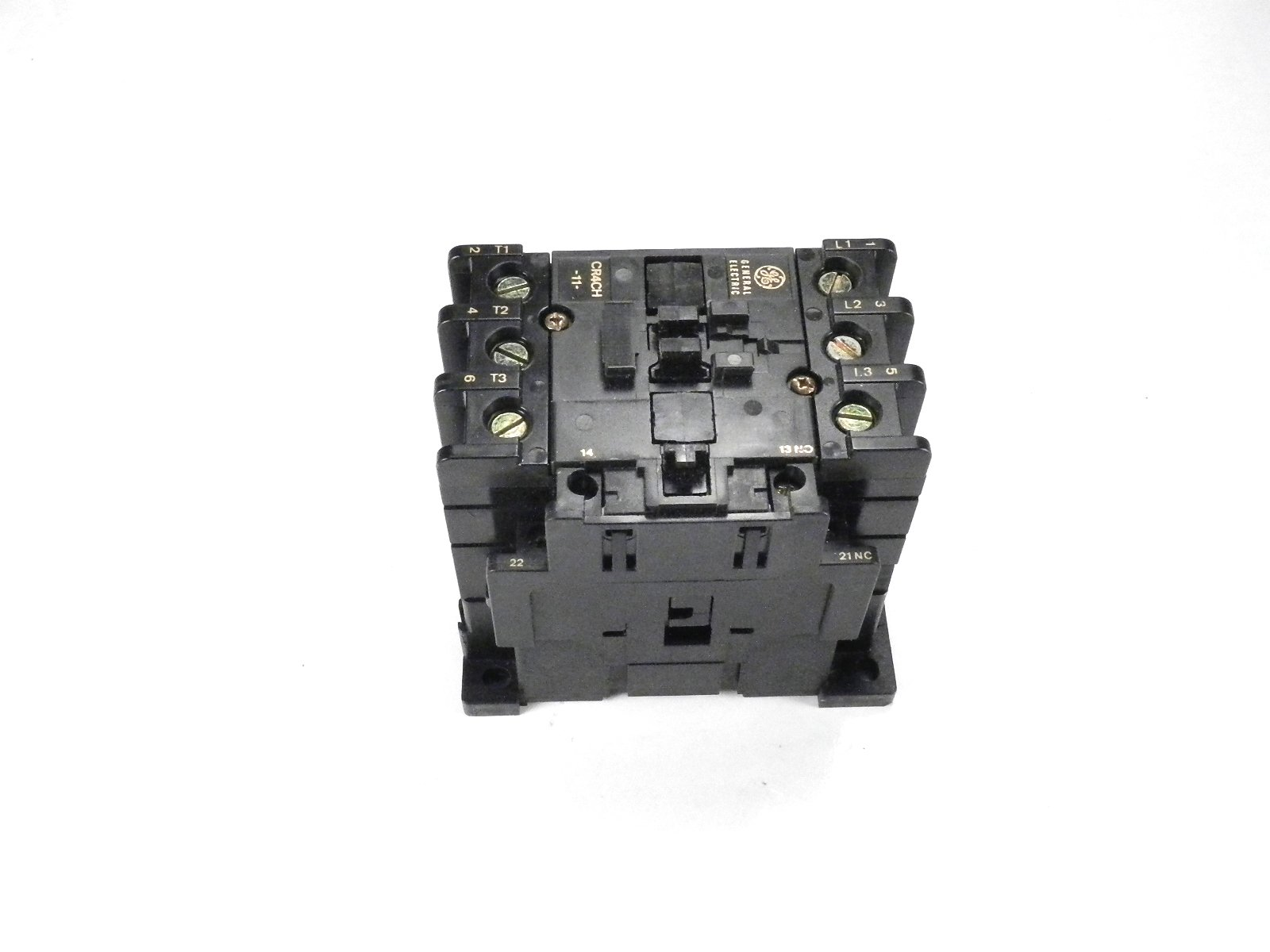 CR4CHH/CR4G3WS GE MAGNETIC MOTOR STARTER OVERLOAD ADJUSTABLE 25-32AMP 24V AC COIL by Sprecher & Schuh (Image #3)