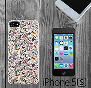 Butterflies on Flowers Custom made Case/Cover/skin FOR iPhone 5/5s