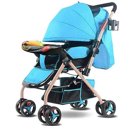 YEC Silla de paseo de 8 ruedas para cochecitos de bebé Silla ...