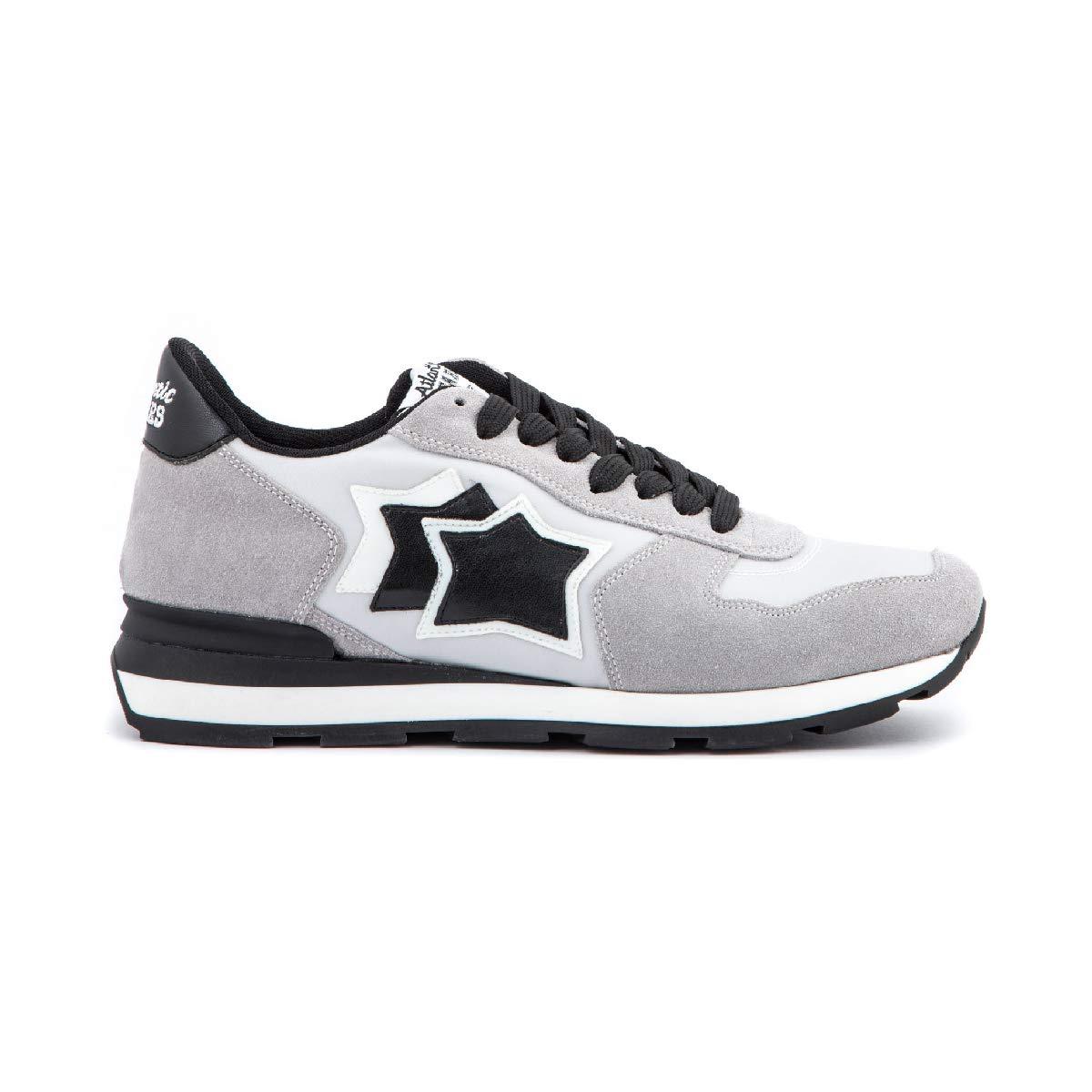 Atlantic Stars Antares Chalk gris - Hauszapatos Deportivas, Color blanco y gris -
