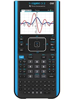 Amazon com : Texas Instruments Nspire CX CAS Graphing