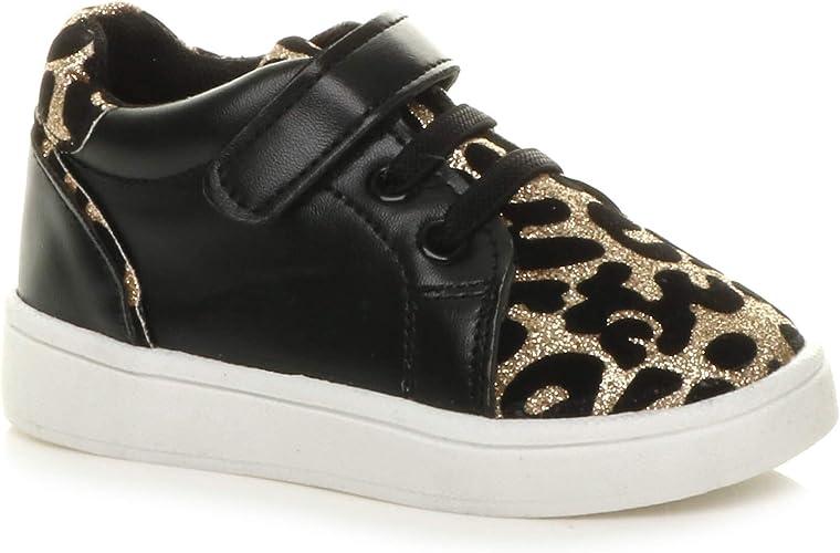 Girls Kids Childrens Infant Leopard